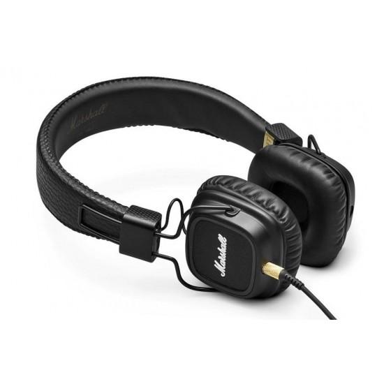 Casti audio On-ear Marshall Major II, Negru - Produs SH