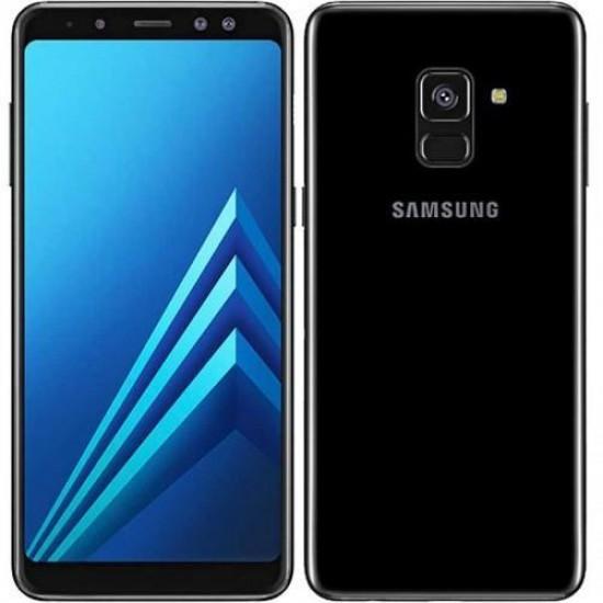 Telefon mobil Samsung Galaxy A8, 32 GB, 4G, Black - Produs resigilat