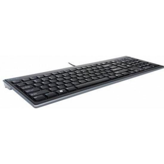 Tastatura Kensington Advance Fit, Wired, USB - Produs resigilat