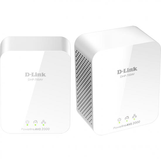 PowerLine D-LINK AV2 2000 HD Gigabit Starter Kit - Produs resigilat