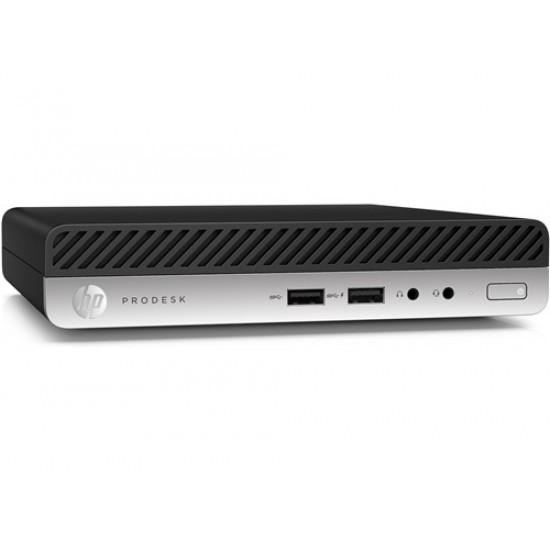 Mini-PC HP EliteDesk 400 G5, Intel Core i5 9500T - 2.2 GHz, RAM 8 GB DDR4, SSD 256 GB