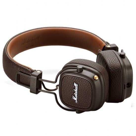 Casti audio On-ear Marshall Major III, cu fir, Maro - Produs resigilat