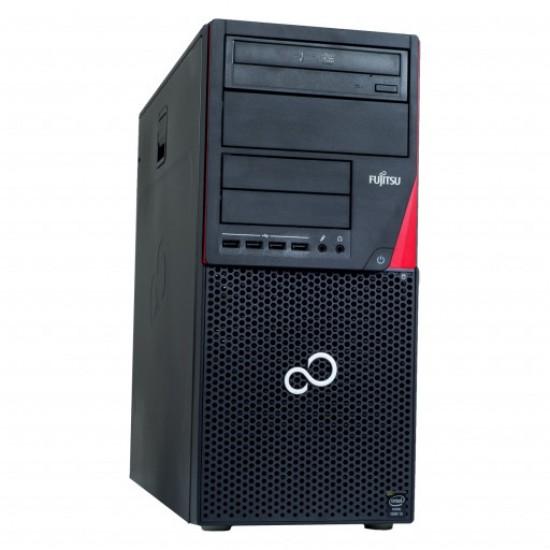 Calculator Fujitsu Esprimo P720 MicroTower Intel Core i3 - 4130 - 3.4 Ghz, RAM 4 GB DDR3, HDD 250GB, DVD-RW