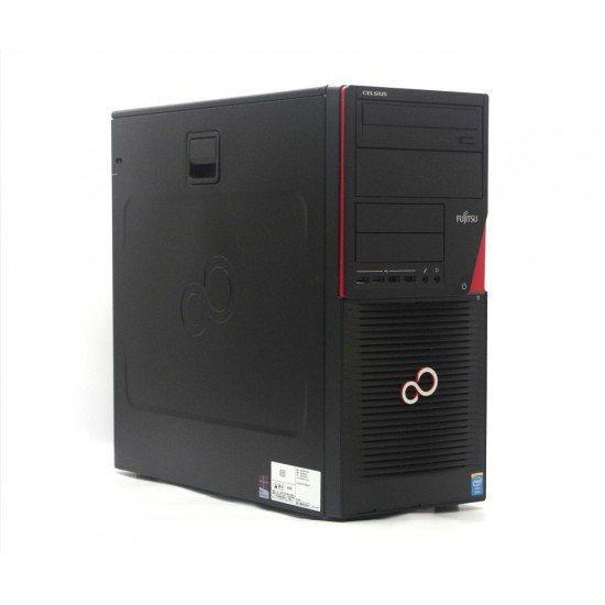 Calculator FUJITSU Celsius W530 Intel XEON E3-1270 V3 - 3,6Ghz, RAM 16 GB DDR3, SSD 256 GB, DVD-RW, nVidia Quadro NVS 310