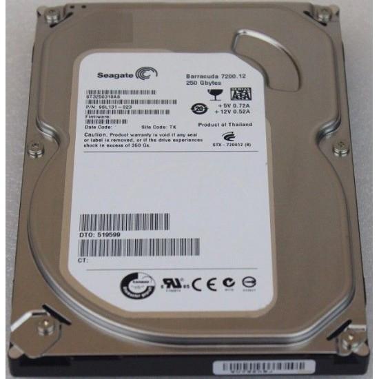 Hard Disk second hand desktop SEAGATE Barracuda - 250 GB