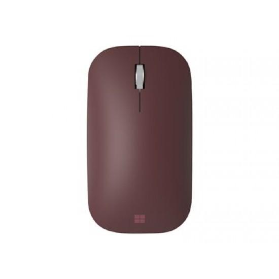 Microsoft Surface Mobile Mouse Bluetooth Burgundy - Mouse - Optic - 3 butoane - Roșu