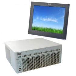 Sistem POS PC Nixdorf + Monitor IBM 4820 15 inch Touchscreen, Intel Core 2 Duo E8400 - 3.00 GHz, RAM 3GB DDR3, HDD 500GB