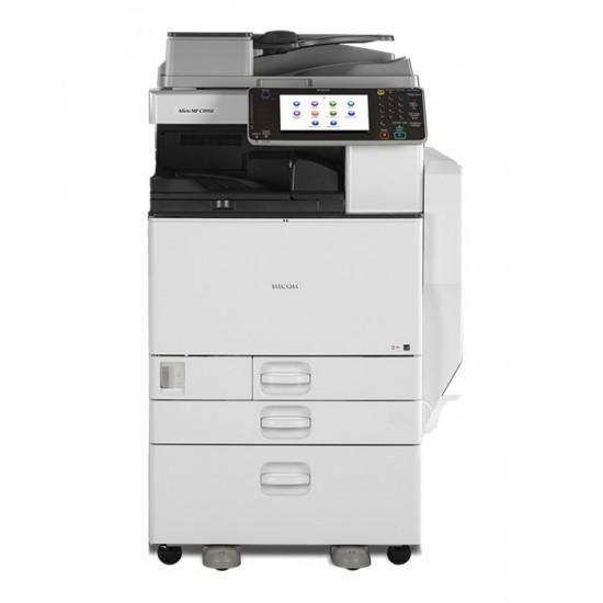 Copiator Profesional Color LaserJet Ricoh Aficio MP C3002, A3 color, 85961 pagini listate