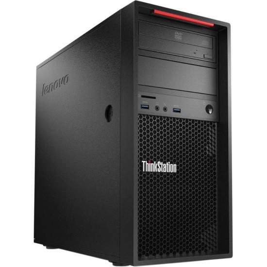 Calculator Lenovo ThinkStation P300 Minitower Intel Core i7 4790 - 3.6 GHz, RAM 16 GB DDR3, SSD 256 GB, DVD-RW, nVidia Quadro K620 - Produs nou